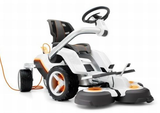 husqvarna electric lawnmower   2