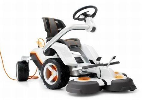 husqvarna electric lawnmower   2