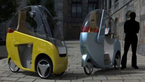 Hybrid human powered vehicle