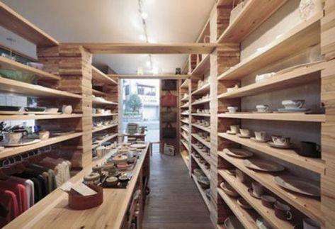 Japanese Contemporary Store Interior Design