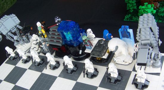 lego empire strikes back chess set