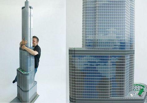 LEGO Replica of Trump Tower