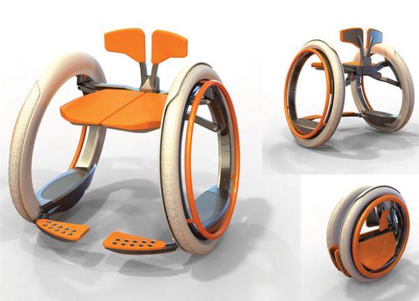 Mobi electric folding wheelchair