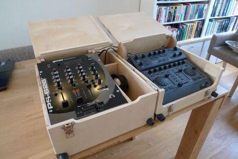 Mobile DJ Flightcase