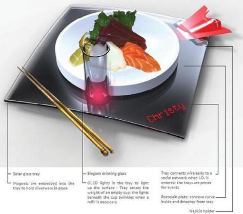 peek solar dining tray atvnf 58