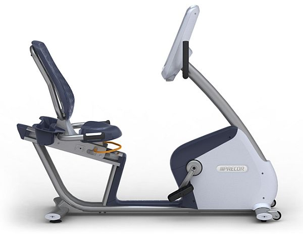 precor recumbent stationary cycle