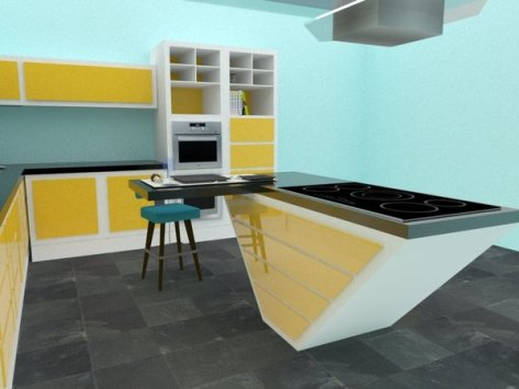 Retro Kitchen