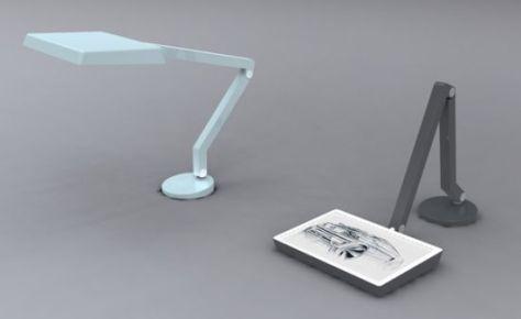 sketch lamp for designer 01
