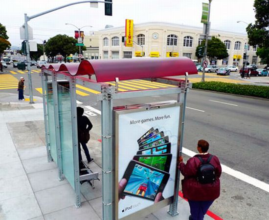 solar powered bus shelter 4