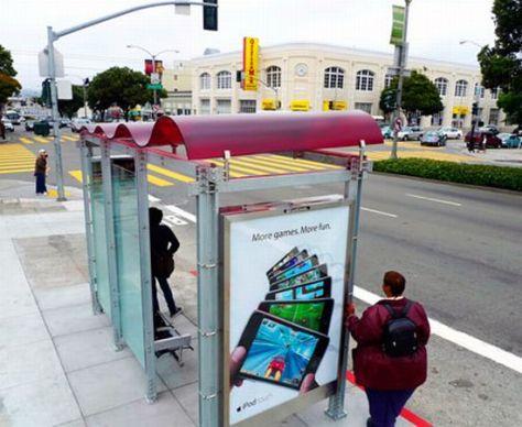 solar powered bus shelter 4