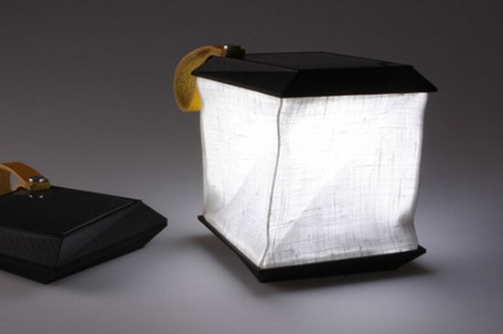 solar powered lamp by jesper jonsson