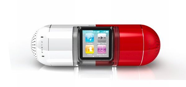 The Pill iPod Nano 6G dock