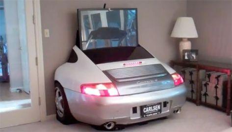 The real Porsche Design entertainment center