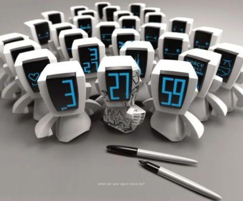 Throwie Digital Alarm