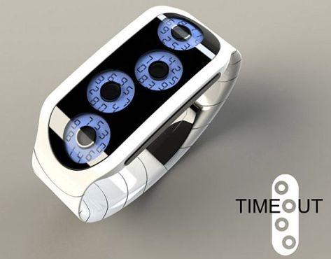 Timeout LCD watch
