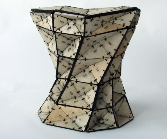 triangles stool 01