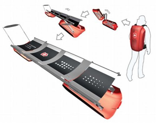 vite collapsible snow stretcher 1