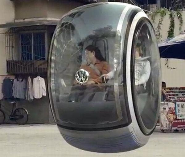 Volkswagen floating car