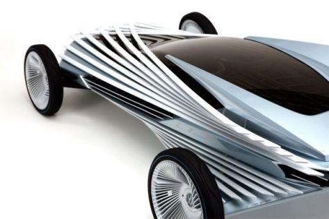 Volkswagen optical illusion car