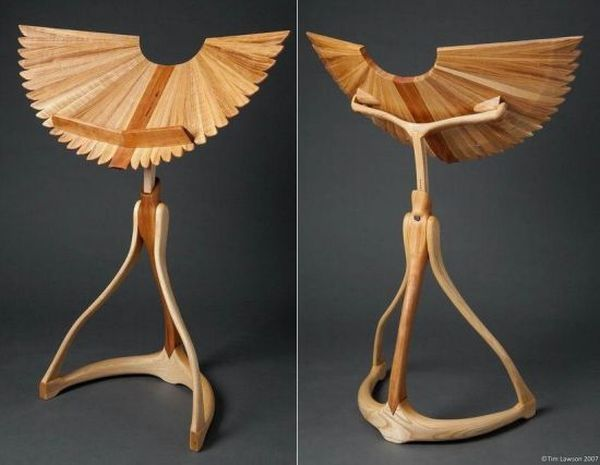 Winged Music Stand
