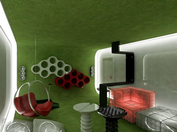 Innovative-Green-Interior-Design-for-Stylish-Living-Room-Decorating-Idea