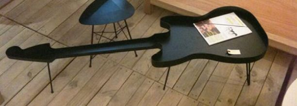 grafunkt guitar coffee table