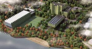 Alejandro Zaera-Polo Arquitectura,Wedel Vattenfall power plant