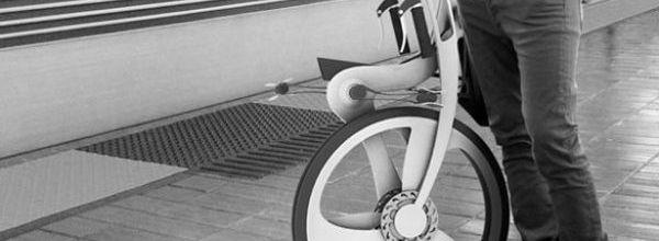 Folding bike concept by Kil