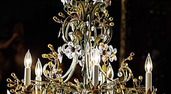 Chandeliers made of Bohemian crystals 1