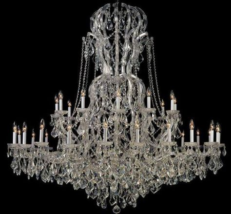 Strass crystal chandeliers