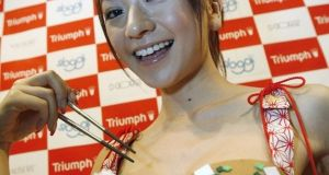 The Chopsticks bra