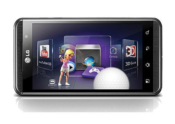 LG 3D Mobile Phone 3