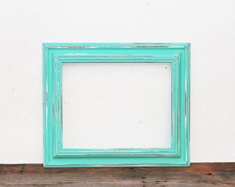 Painted wood photo frames