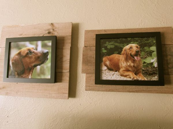 Rustic photo frame
