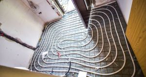 Floor Heating instalation