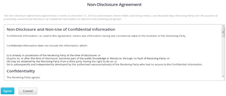 Design Contests - How do I choose a Non-Disclosure Agreement (NDA - non disclosure agreement
