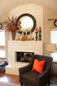 How to Decorate your Fireplace Mantel | Design Contract