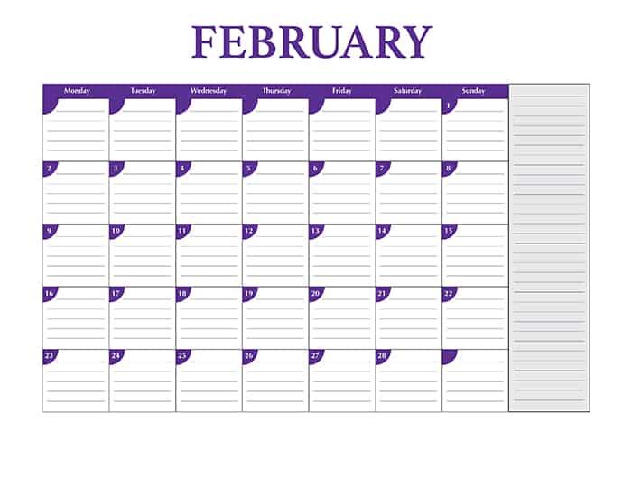 Free Full Size 2015 Desktop Calendar Template Design Crawl