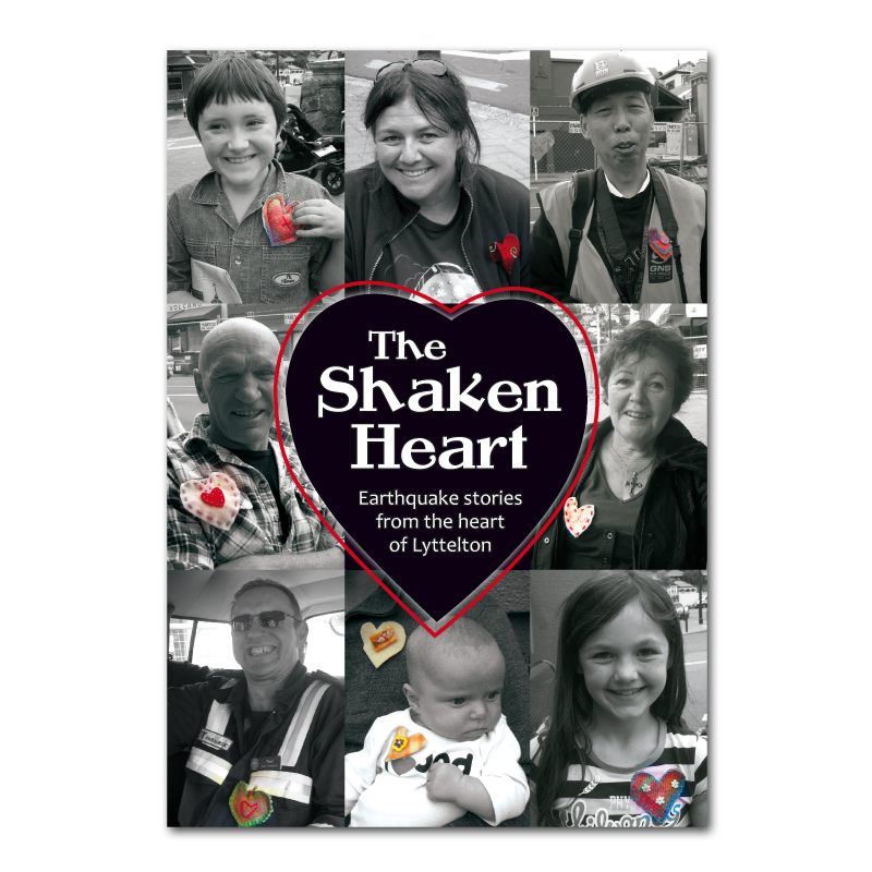 The Shaken Heart booklet