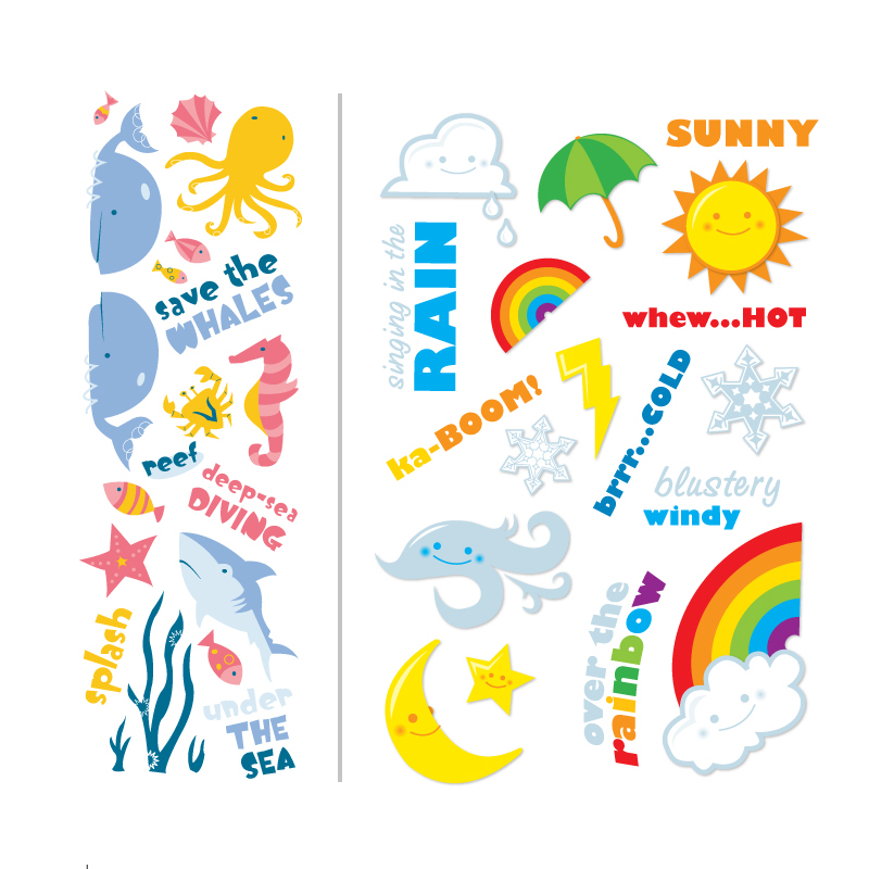 Spot Illustration stickers
