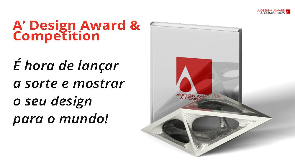O prêmio A'Design.