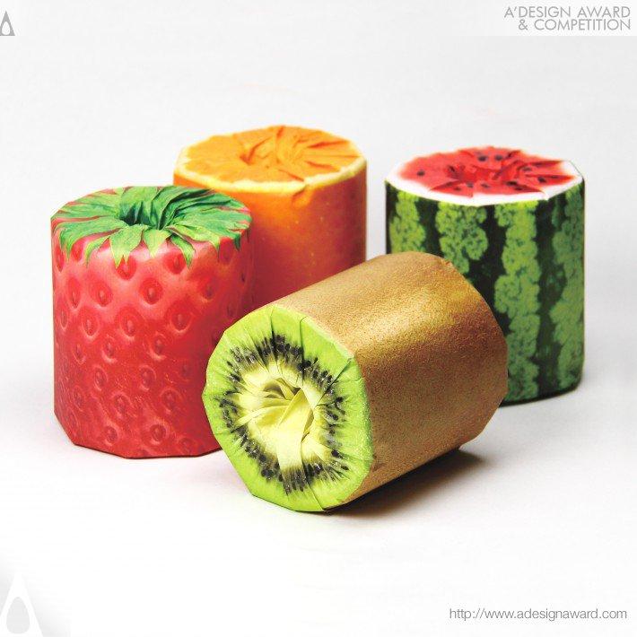 The Fruits Toilet Paper, por Kazuaki Kawahara