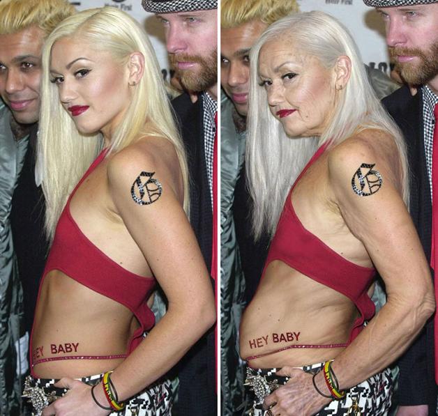 Gwen Stefani por Grumplebits