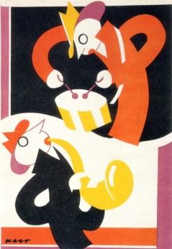 "Projetos por"" Kurazo Murota"" Poster de 1928"