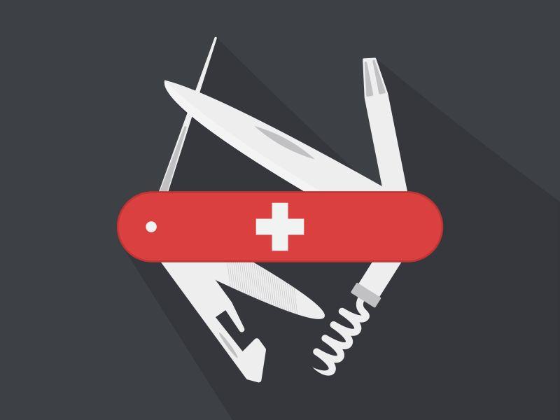 Swiss Army Knife por Seth Eckert