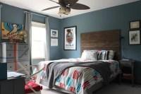 Rustic Modern Teen Boy's Room - Design Dazzle
