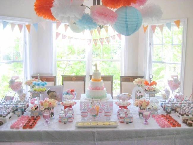 Simply Sweet Birthday Party - Design Dazzle - birthday party design