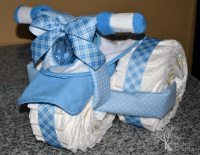 Diaper Cake Ideas for Baby Showers - Design Dazzle