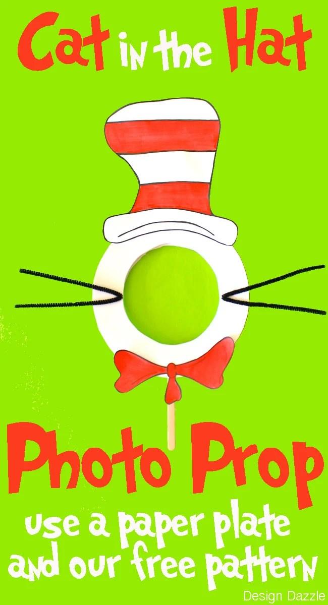 DIY Cat in the Hat Photo Prop - Design Dazzle