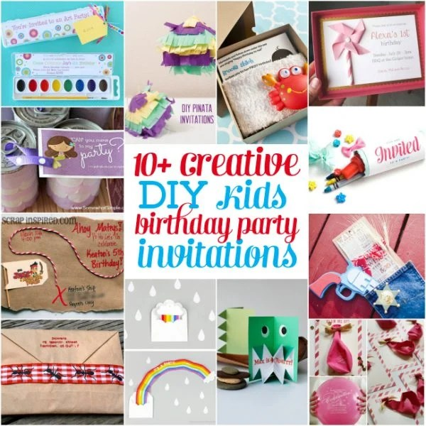 Do it yourself birthday party invitations ltt do it yourself birthday party invitations solutioingenieria Image collections
